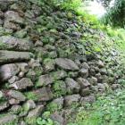 天守曲輪北面の石垣