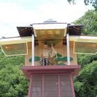岡崎公園時計塔のからくり家康公