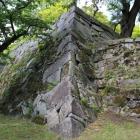 バリエーションに富んだ石垣の積み方