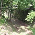 本丸北の堀