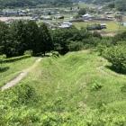 西側大竪堀(上から)