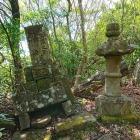 相木盛之助と更科姫の墓