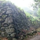 有子山城本丸石垣1
