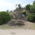 本丸の岩場
