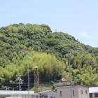 道の駅から望む鎮海山城