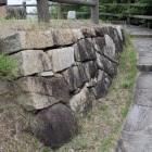 本丸岩場上部石垣