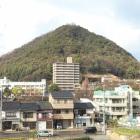 天守台から見た桜山