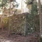 三重櫓のあった曲輪の石垣