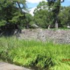 西の丸・本丸部分の石垣