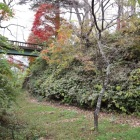 南曲輪と法幢院曲輪の堀