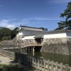 住吉橋から銅門