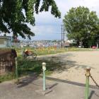 主郭跡と思われる公園
