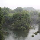 長篠城と宇連川と寒挟川(現・豊川)の眺望