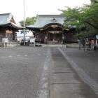 中村御所、一条神社境内