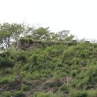千畳平北面石垣櫓台