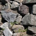 本丸北西側転用石