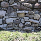 本丸北東側転用石