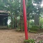 飯綱曲輪に建つ神社