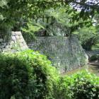 巽櫓跡と水堀