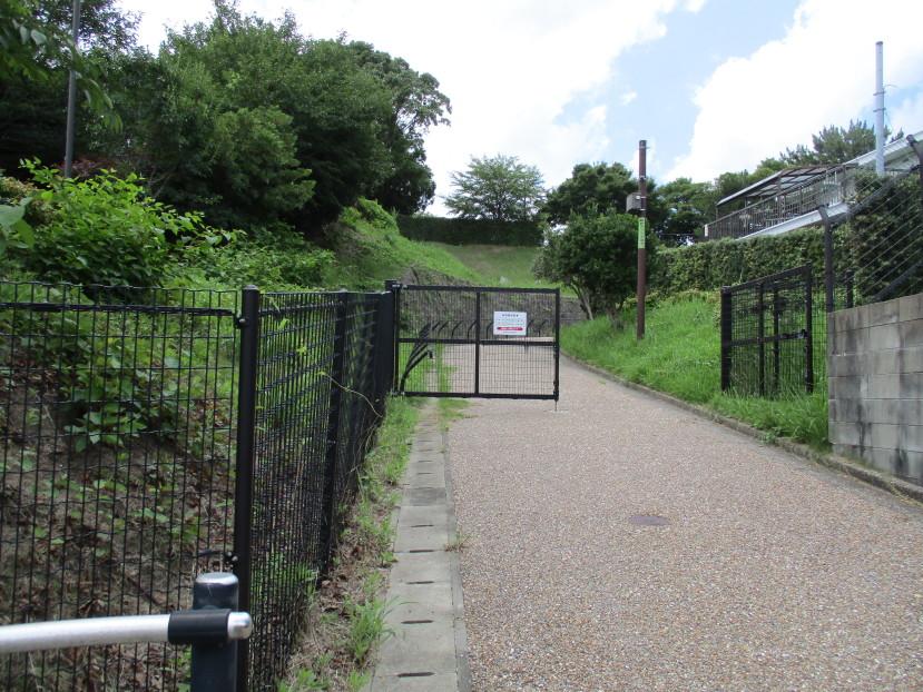 城址公園入口