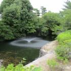 噴水無ければ水堀と断定した池w