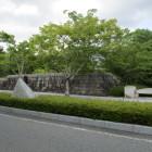 石垣を模したコンクリート壁