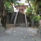 大構土塁跡の愛宕神社