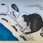 岩井郡海辺村々絵図