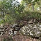 巨石と石垣@山王丸虎口