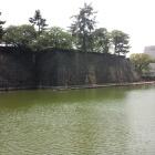 福井城本丸、天守台。