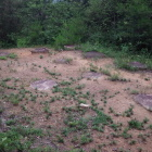 礎石建物跡。こちらは倉庫跡。