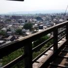 天守三階からの眺め。