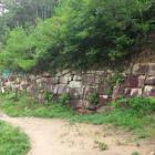 第1~第2水門周辺の石垣。
