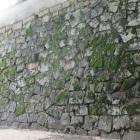 岡山城小納戸櫓下の石垣