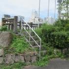 石山城土塁(上)