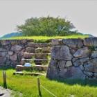 南二の丸にある櫓跡石垣(北側)