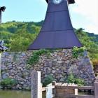 大手門跡と辰鼓楼(北側)