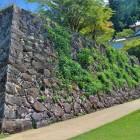 二の丸石垣と西隅櫓