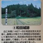 解説板の和田城