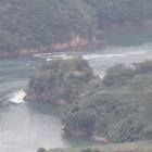 カレー山から能島先端部俯瞰