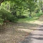 林道登城路と士屋敷跡