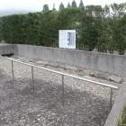 石組溝跡の復元展示