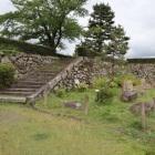 本丸北側石垣(本丸内側)