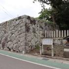 本丸辰巳方向の櫓台