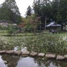 庭園東側から
