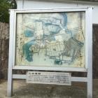 三田陣屋の縄張り図