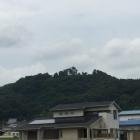 小谷城跡の遠望