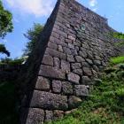 石垣の鋭さも好きです。