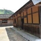 花ノ壇の再現建物