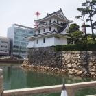 大手門からの艮櫓(うしとやぐら)
